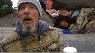 Feeding Homeless Holiday Edition ❤️🎄 (EMOTIONAL ENDING!!)