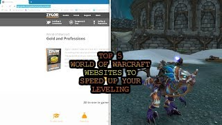 Top 5 World of Warcraft Websites to Speed up Your Leveling