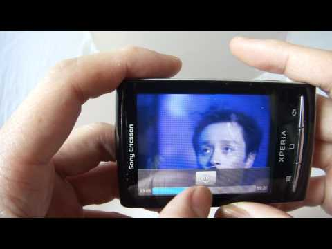 Sonyericsson X10 mini E10i Android 2.1 test