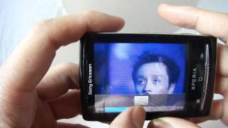 Sonyericsson X10 mini E10i Android 2.1 test