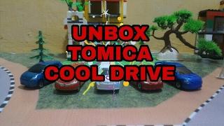 Mainan keren dari tomica seri cool drive Model sesuai aslinya Detail yang memuaskan Bahan metal Awet dan berkualitas.