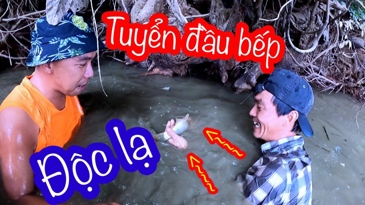 Mò Ốc Bắt Cá Làm Món Ẩm Thực Độc Lạ Từ Đầu Bếp Mới | Son Duoc Vlogs