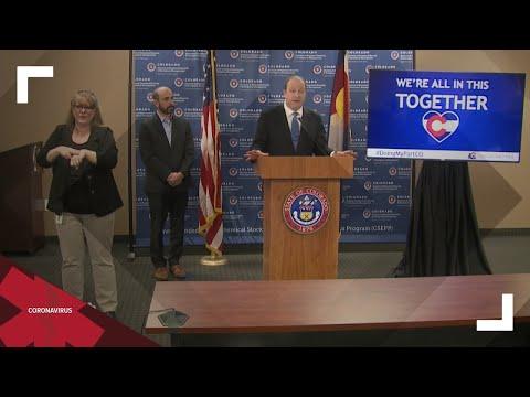 Gov. Polis makes statewide address on COVID-19 response