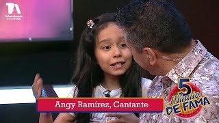 5 Minutos de Fama, Angy Ramírez, Cantante - Teleantioquia