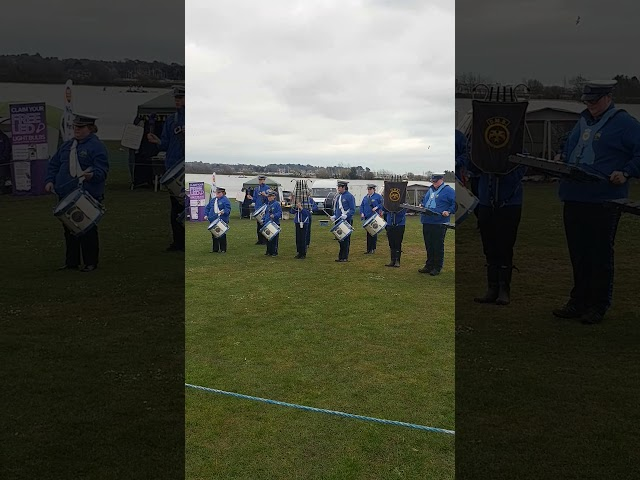 Dolphin marching band easter display2018 poole park