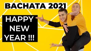 Bachata Dance Tutorial Combination (Int-Adv) | Happy New Year Bachata Tutorial (Bachata 2021)