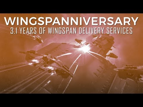 WINGSPANNIVERSARY: Celebrating 3.1 Years of WINGSPAN Delivery Services in EVE Online