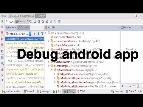 ... studio 2016 - Debug android app | android tutorial for beginners