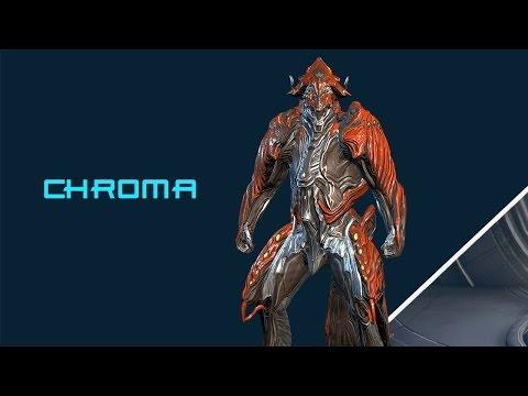 Warframe: Off The Runway - Chroma Fashionframe