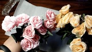 Искусственные цветы с Алиэкспресс