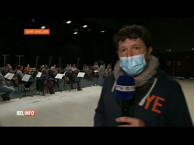 Concours Reine Elisabeth: l'Orchestre Royal de Chambre de Wallonie répète