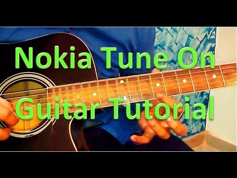 Nokia Tune Guitar Lesson Very Easy - Guitar Tabs Tutorial