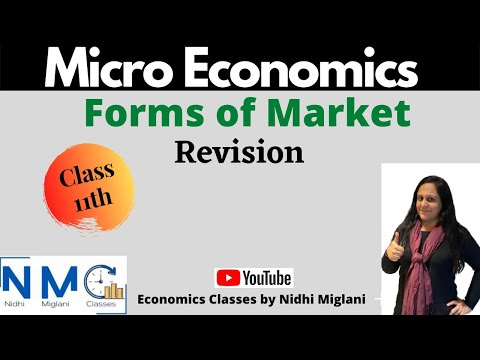 Revision Class 12th - Forms of Market - by Nidhi Miglani