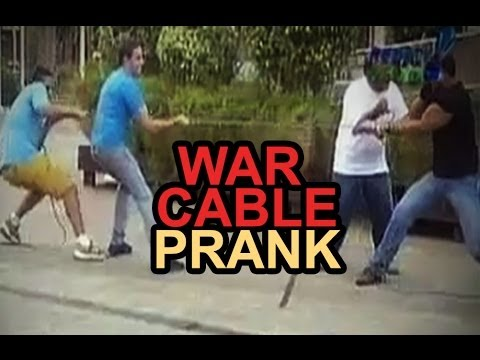 WAR CABLE  - Funny Brazil Prank