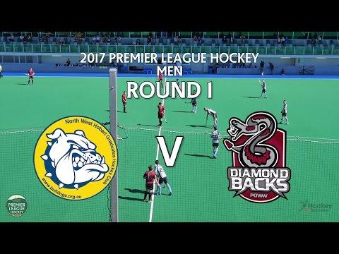 North West Grads v Diamondbacks   Men Round 1   Premier League Hockey 2017