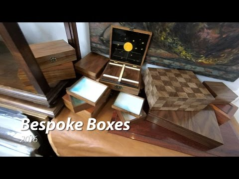 Bespoke luxury boxes video  by Artcase restorations ,Branko Stipanovic