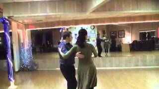 Gwen Becnel and Stephan Howard Dance A Cha-Cha--Bayoubuzz.com