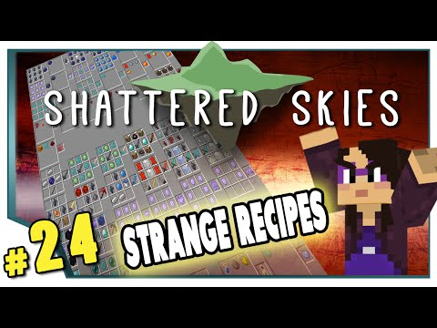 Minecraft: Shattered Skies – #24 – Strange Recipes (FTB Skyblock)