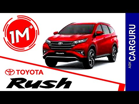 Toyota Rush, CARGURU, हिन्दी में, Engine, Interior, price, Launching Date & All Details