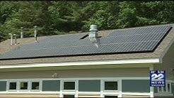 Solar panels installed at Dakin's Leverett Adoption Center