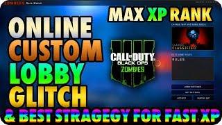 BO4 Zombie Glitches: Online Custom Mutations Glitch & SetUp Earn XP Fast - Black Ops 4 Glitches