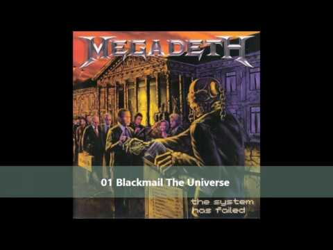 Megadeth   The system has failed full album 2004