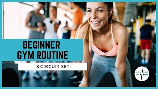 Beginner gym routine