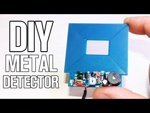 Simple DIY Metal Detector kit