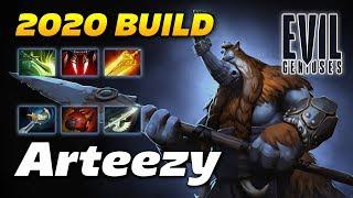 Arteezy Magnus Carry 2020 Build - Dota 2 Pro Gameplay