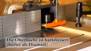 full video holzprofi vielfachfr ser zum nut und feder. Black Bedroom Furniture Sets. Home Design Ideas