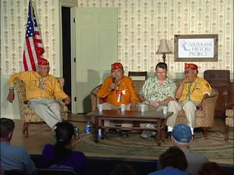 WWII Reunion: Navajo Code Talkers 1