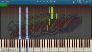 Drawing Days [Katekyo Hitman Reborn OP1- TV size] [Synthesia]