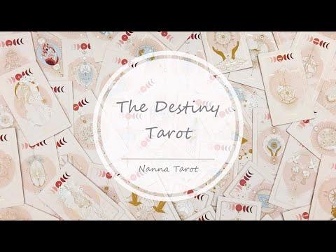 開箱  命運塔羅牌 • The Destiny Tarot // Nanna Tarot