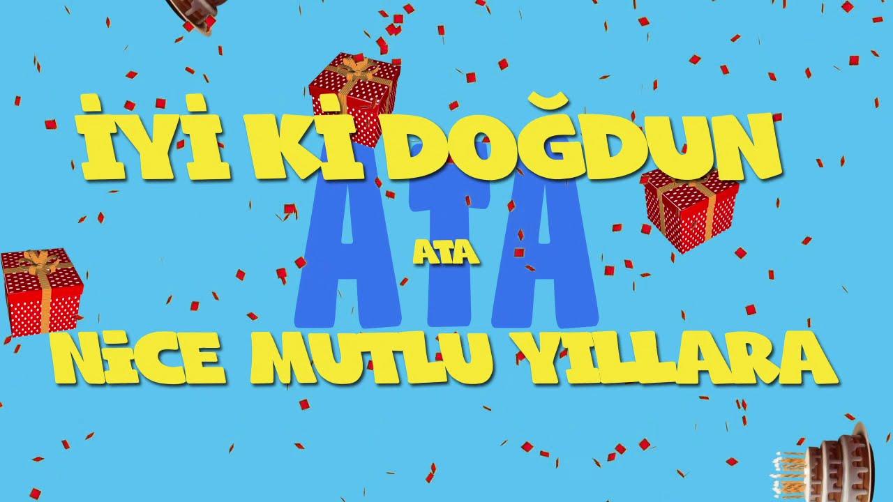 İyi ki doğdun ATA - İsme Özel Ankara Havası Doğum Günü Şarkısı (FULL VERSİYON) (REKLAMSIZ)