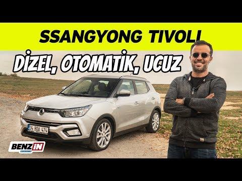 SsangYong Tivoli Test Sürüşü   Uygun Fiyatlı Dizel Otomatik SUV