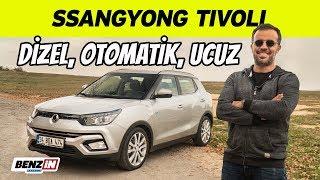 SsangYong Tivoli test sürüşü | Uygun fiyatlı dizel otomatik SUV