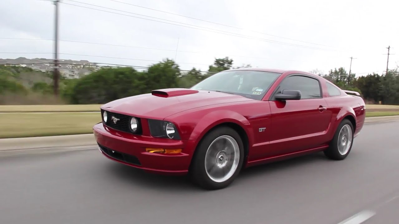 My first car review 08 mustang gt