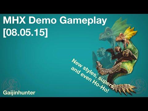 MHX: Demo Gameplay [08.05.15]