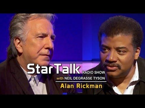 ALAN RICKMAN joins StarTalk with Neil deGrasse Tyson