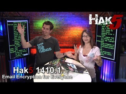 Email Encryption for Everyone - Hak5 1410.1