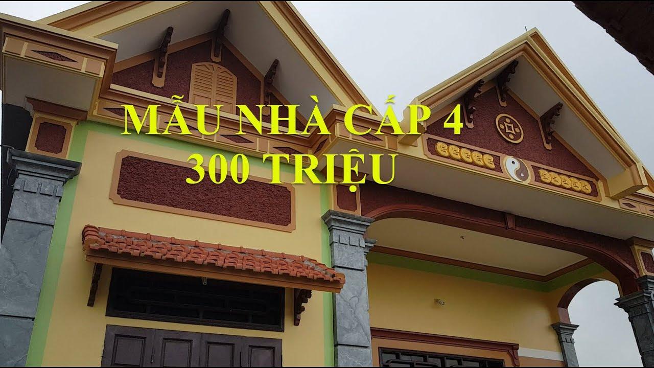 Thăm Quan Mẫu Nhà Cấp 4 Đẹp Diện Tích 8x10m Giá 300 Triệu Tại Ninh Bình
