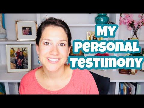 My Personal Testimony || Catholic