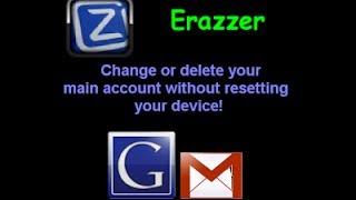 Как удалить Google аккаунт на Андроид без потери данных(Google Play https://play.google.com/store/apps/details?id=dsoft.ErazzerFree., 2014-02-03T10:06:55.000Z)