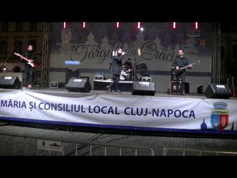 TonyJay - Christmas Concert 2015 Piata Unirii Cluj Napoca