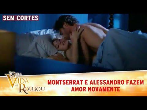 Download O Que a Vida Me Roubou - Montserrat e Alessandro fazem amor. (SEM CORTES)