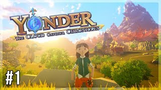 Shipwrecked on the Beautiful Gemea! | Yonder: The Cloud Catcher Chronicles Let's Play - Episode 1