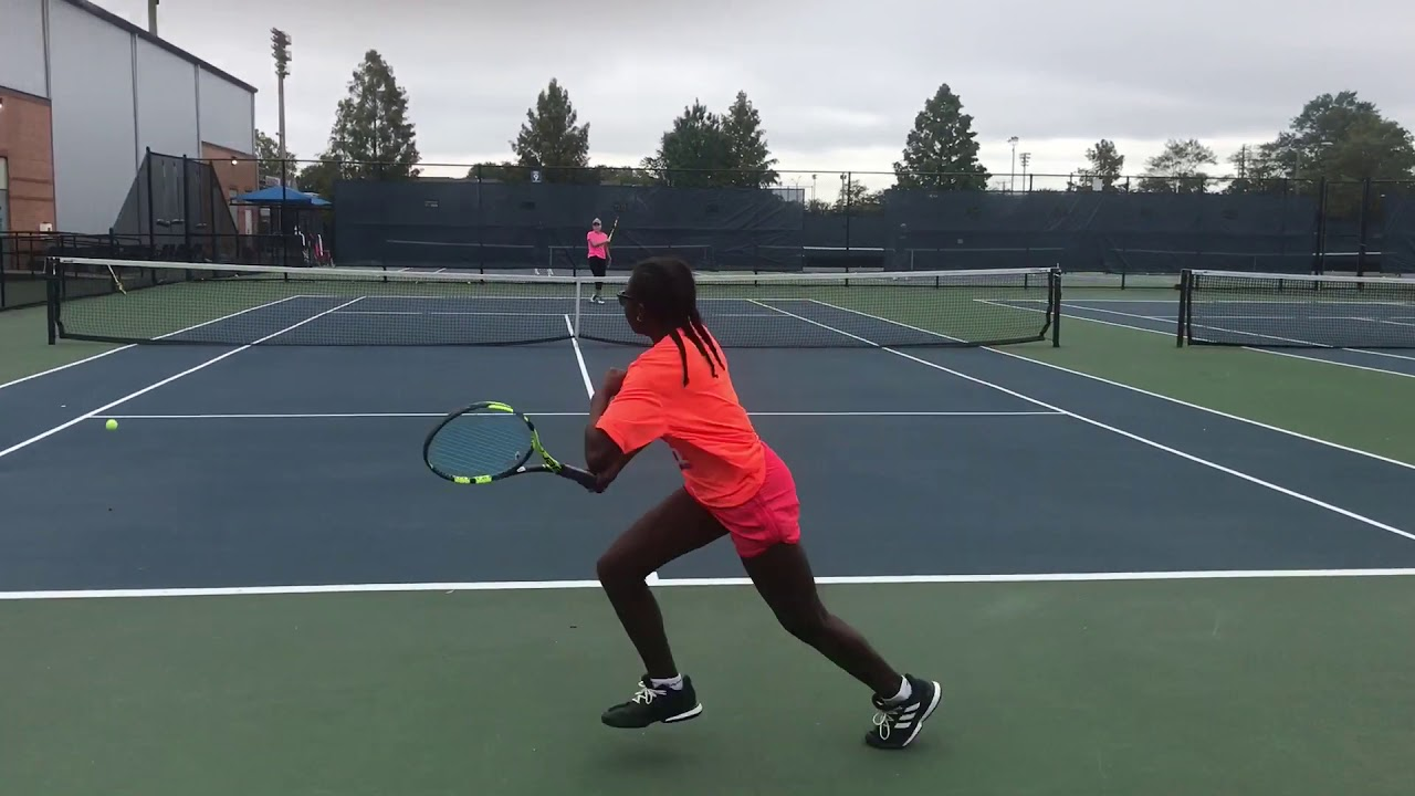 12 Year Old Plays Practice Set with D1 Nationally Ranked Player