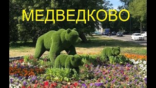 Медведково, Яуза, парк отдыха с квадрокоптера