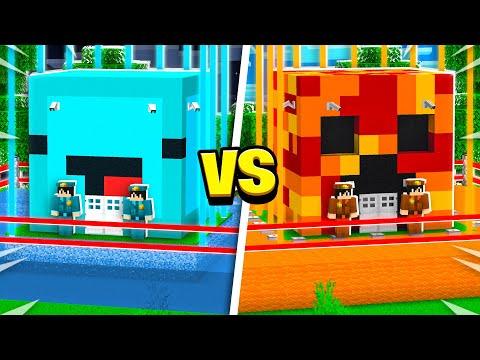 World's MOST Secure Minecraft House Battle! Preston vs Skeppy