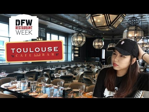 VLOG|Toulouse Café and Bar 探店Brunch | DFW Restaurant Week 达拉斯餐馆周
